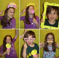 Фотобутафория для детского праздника
