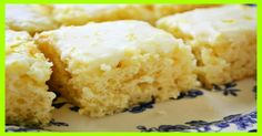 Skinny Lemon Brownies 4 weight watchers Smartpoints | Smart Points Recipes