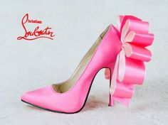 """""""A Woman carries her clothes, but it's a shoe which carries a woman"""" – Christian Louboutin"""