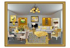 Sunny Yellow decorating ideas.