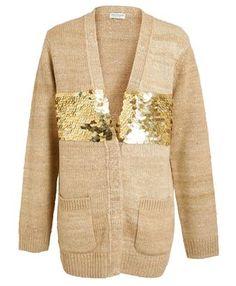 DRIES VAN NOTEN - Jovan Sequin Embellished Oversized Cardigan