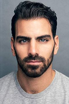 Nyle DiMarco Moustache, Pretty Men, Beautiful Men, Nyle Dimarco Antm, Hollywood Tv Series, Coiffure Hair, Mens Hairstyles With Beard, Le Male, Shot In The Dark