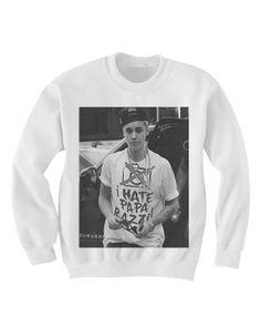 Justin Bieber Sweatshirt Sweater  Justin Bieber T by FANdamonium, $25.00
