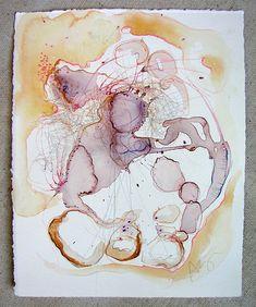 BeBe Eau Monde 602   Flickr - Photo Sharing!watercolour by Alyn Carlson