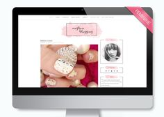 Feminine Wordpress Theme - Meghan by LucaLogos on Creative Market