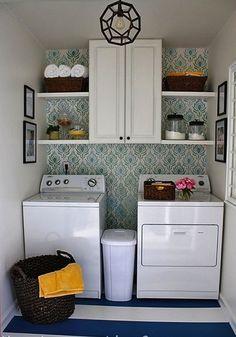 Love the laundry room design