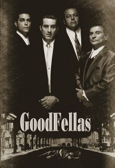 "Martin Scorese's ""GoodFellas"" (1990) I'm usually not a big fan of gangster movies but this one blew me over! Love this one!"