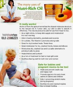 Many uses of the Nutri-rich oil! :)