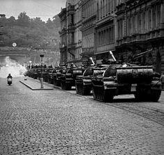 Soviet invasion of Czechoslovakia - August 21, 1968.