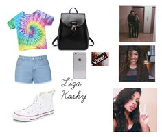 """""""Steal The Look: Liza Koshy (Lizzza)"""" by icantdoit ❤ liked on Polyvore featuring Ally Fashion and Converse"""