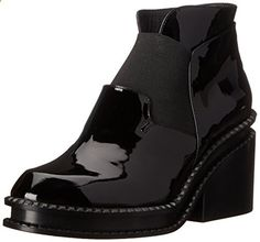 Robert Clergerie Women's Wanguy Boot, Black Patent, 41.5 EU11 B US. Read more about the product on the website.