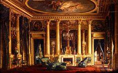 Charles Giraud - A Salon in the Hotel of Monsieur Basile Parent, Place Vendome, Paris