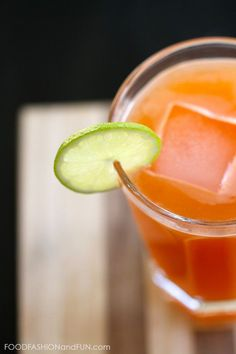 carrot juice in a cocktail!