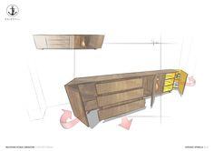 #DRESSOIRE #DESIGN - @eginstillstudio |  Concept design proposal for a multifunctional dressoire for a private client in Amsterdam. #Design @eginstillstudio  by #stefanospinella #stefano #spinella #spino #design #spinodesign #amsterdam #eginstill #concept