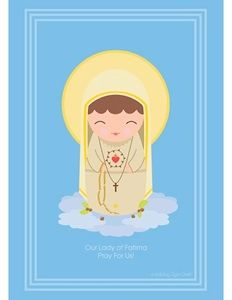 printables...Our Lady of Fatima