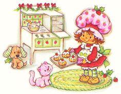 strawberry shortcake - christmas baking