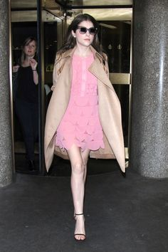 Anna Kendrick Is the Latest Celebrity to Think Pink