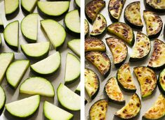 Simple sautéed zucchini that takes under 15 minutes and is full of flavour. Makes a great side dish or perfect with some fresh bread or toast! Sauteed Zucchini Recipes, Mushroom Broccoli, Broccoli Bake, Cream Pasta, Vegan Cauliflower, Garlic Mushrooms, Toasted Almonds, Fresh Bread, Love Eat