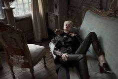 Neoteric Victorian Vestures : Russian Vogue December 2012