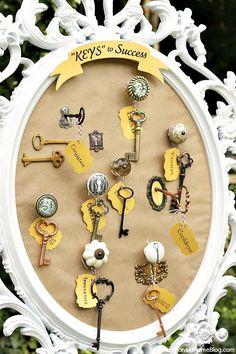 Graduation party - "keys to success" theme