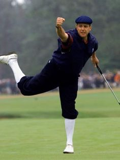 Because he was one of the classiest golfers the US had - gone too soon :(