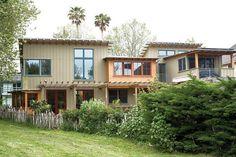 Green zero-energy family home in #SantaCruz