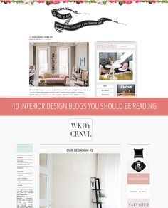 10 Interior Design Blogs You Should Be Reading