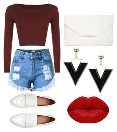 """""""Sexy and Simple Looked in Casual"""" by cindyveronica on Polyvore featuring WearAll, Topshop, Style & Co. and Winky Lux"""