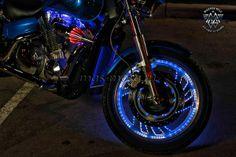 Honda VTX с подсветкой дисков