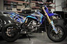 Yamaha WR450F Ben Spies Custom