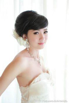 Bridal Hairstyle & Bridal Gown Wedding Dress,新娘妝髮造型,Yeah!新娘秘書網,白紗