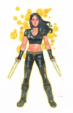X-23 - Phil Noto - 2013 Comic Art