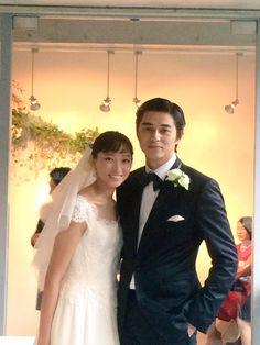 — Masahiro Higashide and Anne held their wedding. Japanese Princess, Japanese Men, Celebs, Celebrities, Celebrity Weddings, Bridal Style, Cute Couples, Asian Beauty, Wedding Photos