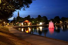 Växjö, Sweden. A lot of good memories there.