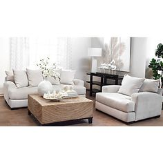 Most comfortable couch and chair ever. Good thing I just bought both:)  Stella Sofa | Z Gallerie