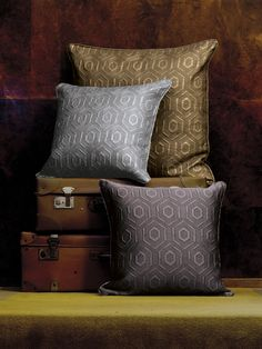 Luxury International Cushions - perfect for the bedroom or the living room l Frette