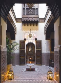 Royal Mansour Lobby. Marrakech. MOROCCO.