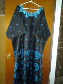 cotton dress very comfortable free size wear for outdoo or indoor free ship for 24.99nwt