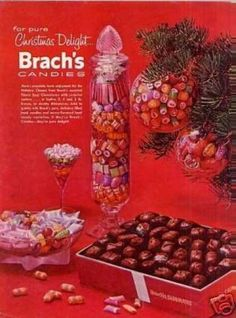 Vintage Candy Advertisements of the 1950s