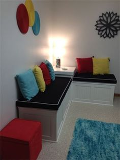 Steward of Design Pre teen Hangout Room Reveal basement