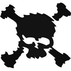 Skulls s Oakley Scatter Crossbones Vinyl Decal Sticker Oakley Logo, Skull Logo, Truck Decals, Desenho Tattoo, American Made, Tumbler, Skulls, Stickers, Fonts