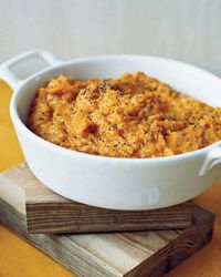 Mashed Winter Squash with Indian Spices - Squash from Food & Wine
