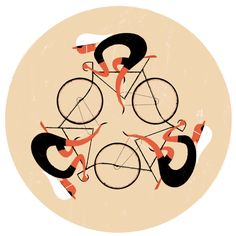 Bicycle Film Festival - Poster Art on Illustration Served