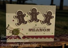 Stampin' Up! Gingerbread Men Card