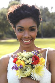 CurlsUnderstood.com: Beautiful Natural Hair Bride