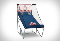 HOME BASKETBALL ARCADE GAME A trip down nostalgia lane... you probably remember spending hours  throwing miniature basketballs into the local arcade machine, well, you  can now p... http://drwong.live/gear/e_kogpfsbck/