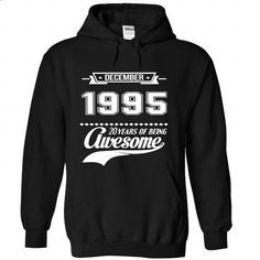 1995 December Perfect Xmas Gift - #hoodie costume #sweater style. BUY NOW => https://www.sunfrog.com//1995-December-Perfect-Xmas-Gift-7901-Black-Hoodie.html?68278