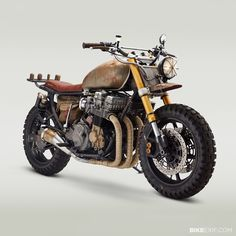 Built to survive: Yes, this is the actual motorcycle ridden by Daryl Dixon in the latest episode of The Walking Dead. Actor Norman Reedus already has a Classified Moto bike in his garage, so builder John Ryland got the shoulder-tap. And he discovered that Norman Reedus, Honda Nighthawk, Honda Cb750, Yamaha Yzf, Honda Scrambler, The Walking Dead, Daryl Dixon Motorcycle, Er6n, Motorcycle Wheels