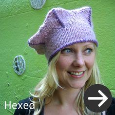 free Hexed Hat knitting pattern