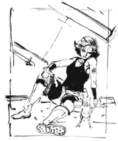 Meryl Sketch, Metal Gear Solid 1
